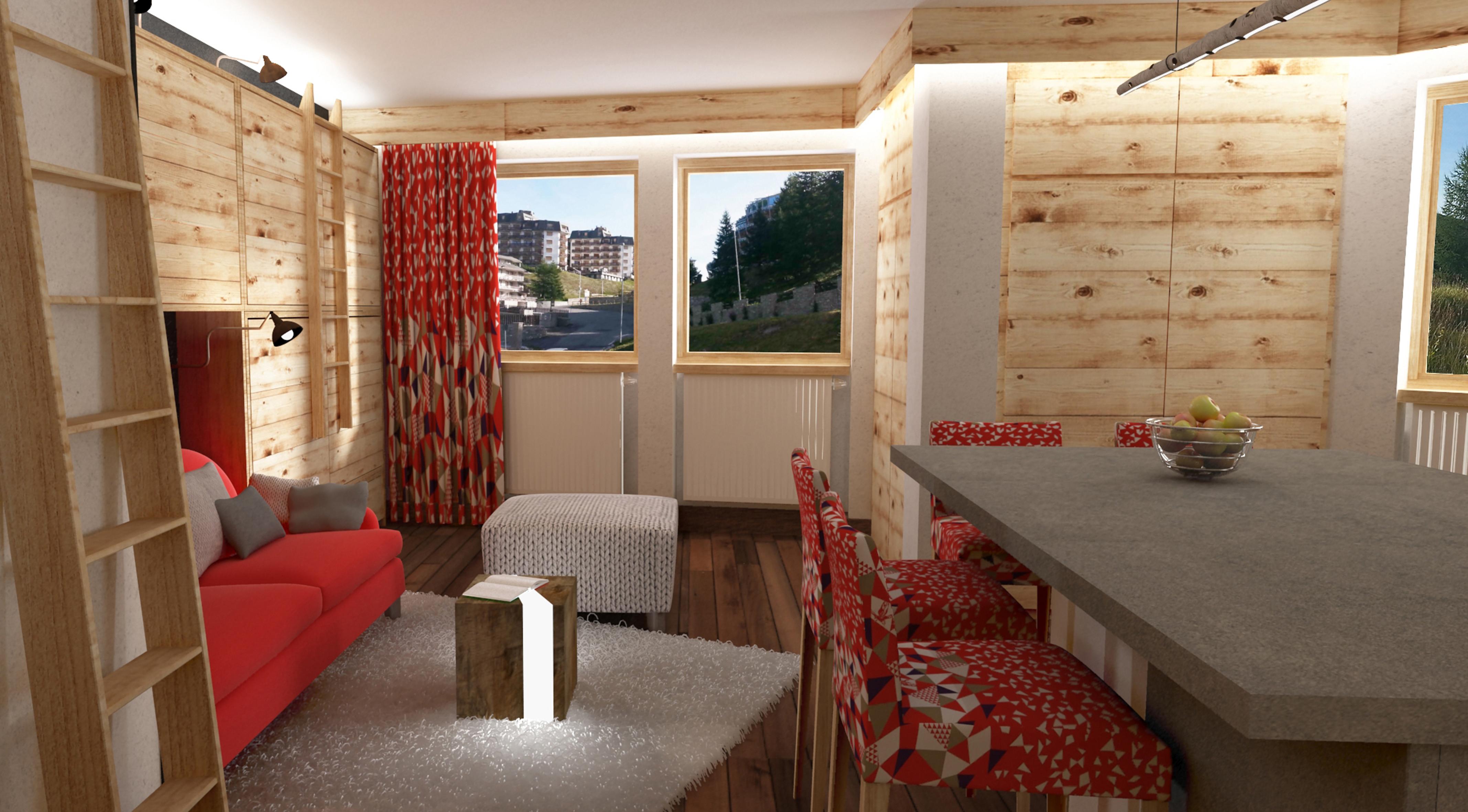 Ristrutturazione appartamenti di montagna studio swap torino for Progetti di ristrutturazione appartamenti